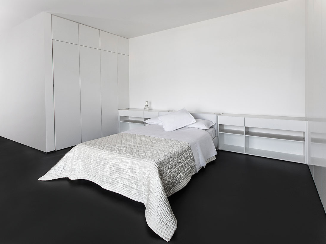 White total look bedding